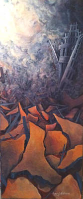 September 11 Painting - September 11 by Sherry Leigh Williams