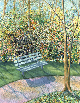 Painting - September Afternoon by Lynn Quinn