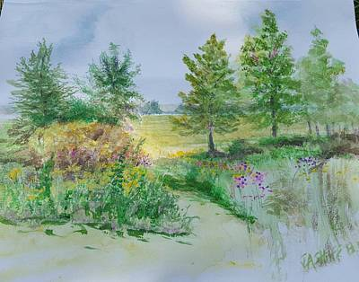 Painting - September At Kickapoo Creek Park by J Anthony Shuff