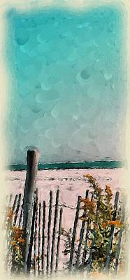 September Beach Art Print by Susan Fisher