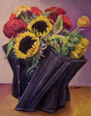 Art Print featuring the painting September Cincher by Laura Aceto