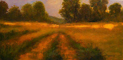 Painting - September Field by Jan Blencowe