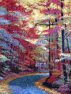 Pathway Painting - September Impressions by David Lloyd Glover