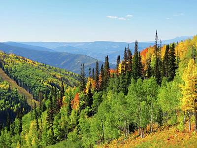 September In Steamboat Springs Print by Connor Beekman