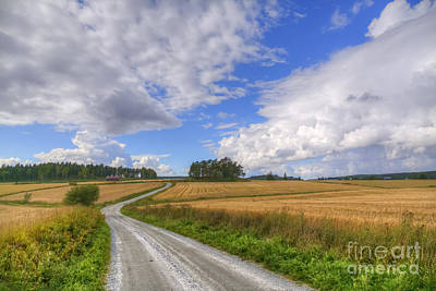 Salo Photograph - September In The Countryside by Veikko Suikkanen