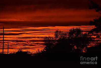 Photograph - September Kansas Sunset by Mark McReynolds
