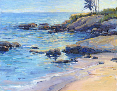 September Light / Laguna Beach Art Print