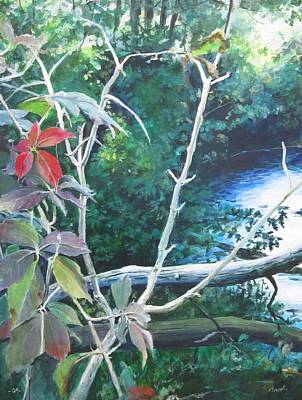 Painting - September Moment by William Brody
