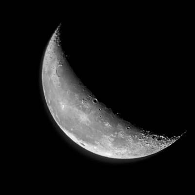 Moon Photograph - September Moon by Rick Grossman