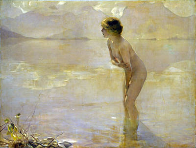 Morn Painting - September Morn by Paul Emile Chabas