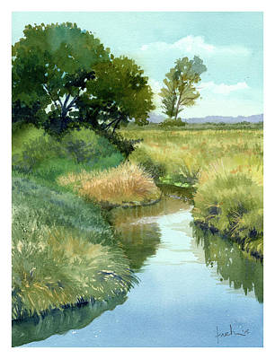 September Morning, Allen Creek Art Print