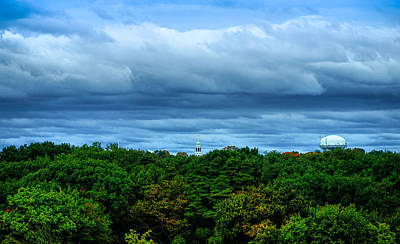 Nature Photograph - September New England Landscape by Lilia D