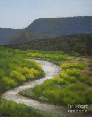 Painting - September On The Rio Chama by Phyllis Andrews