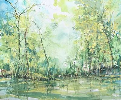 Painting - September Silence by Robin Miller-Bookhout