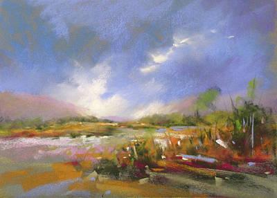 Painting - September Skies by Rae Andrews