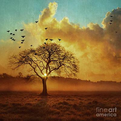 September Sky Art Print by KaFra Art