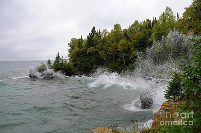 Photograph - September Splash by Sandra Updyke