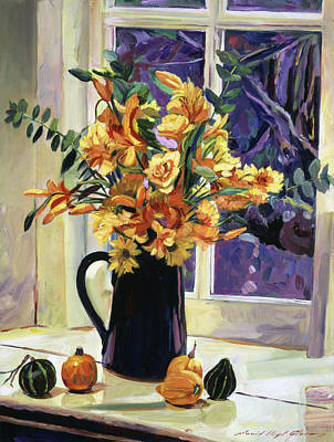 Painting - September Still Life by David Lloyd Glover