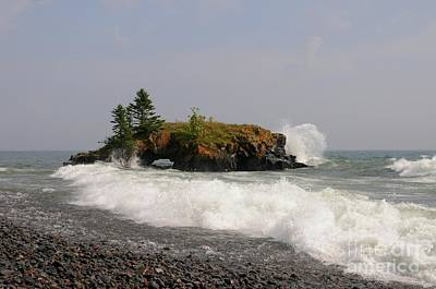 Photograph - September Storm At Hollow Rock by Sandra Updyke