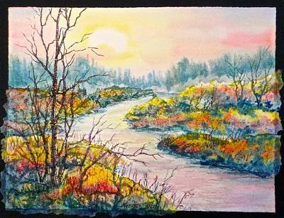 Painting - September Sunrise by Carolyn Rosenberger
