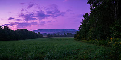 Photograph - September Twilight by Chris Bordeleau