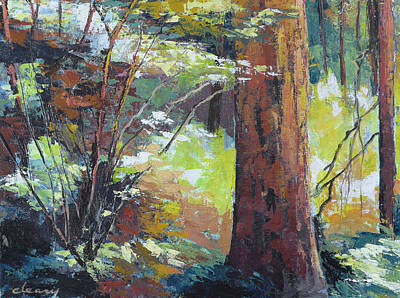 Painting - September Woods by Melody Cleary