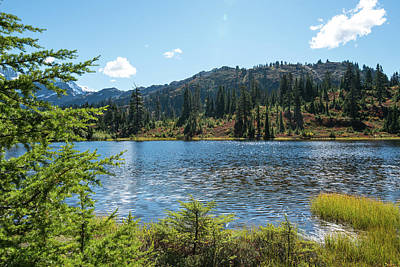 Photograph - September Wrinkles On Picture Lake by Tom Cochran