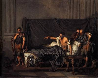 Caracalla Painting - Septimius Severus And Caracalla by Baptiste