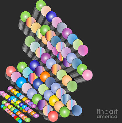 Digital Art - Sequence by Eleni Mac Synodinos