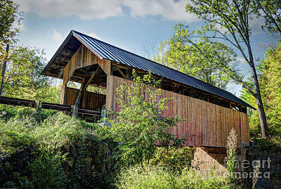 Photograph - Sequin Covered Bridge II  by Deborah Klubertanz