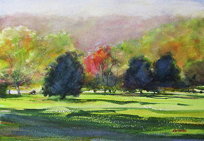 Painting - Sequoyah Hills by Carl Whitten