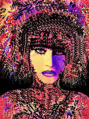 Mixed Media - Serafina by Natalie Holland