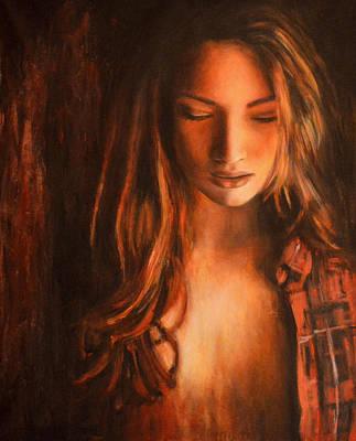 Figurative Painting - Serata 2 by Escha Van den bogerd