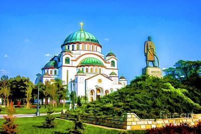 Photograph - Serbian Church by Rick Bragan
