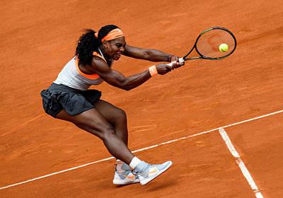 Serena Williams Photograph - Serena Williams 1 by Dani Pozo