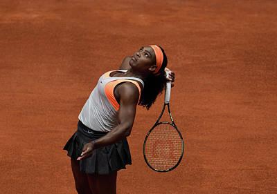 Serena Williams Photograph - Serena Williams 3 by Dani Pozo