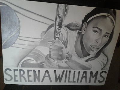 Serena Williams  Art Print