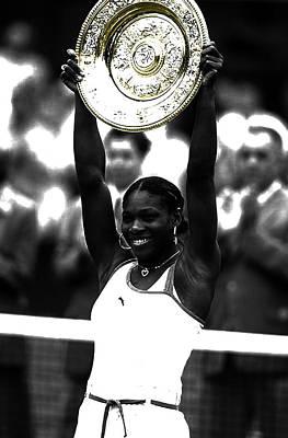 Serena Williams Got Another Title Art Print