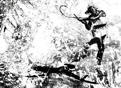 Serena Williams S1a Art Print