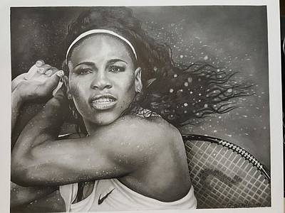 Serena Williams Original by Tommy Wright