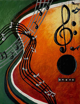 Serenade Art Print by Teresa Wing