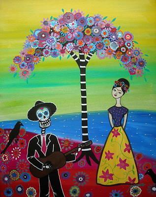 Serenading Frida Art Print
