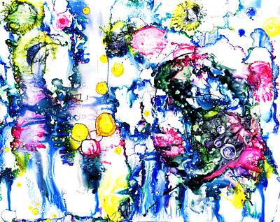 Microsoft Painting - Serenading by Sir Josef - Social Critic -  Maha Art