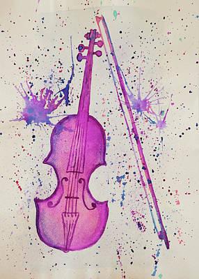 Painting - Serenata by Iryna Goodall