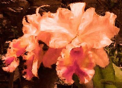 Serendipity Orchid Art Print by Susan Maxwell Schmidt