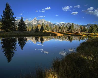 Photograph - Serene Autumn Morning At Grand Tetons by Vishwanath Bhat