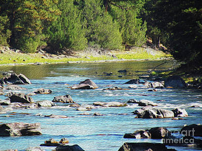 Blackfoot River Photograph - Serenity by Cindy Sterner