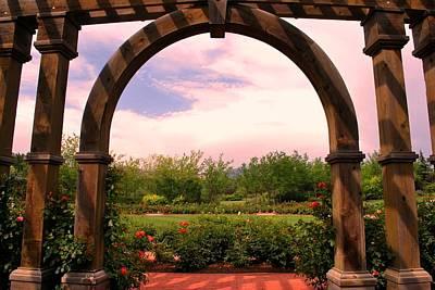 Photograph - Serene Garden View by Matt Harang