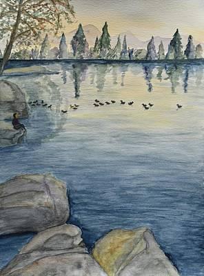 Serene Lake  Original