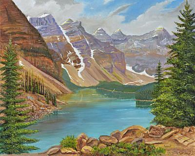 Serene Lake Moraine Original